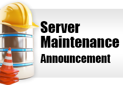 Server Maintenance - Websites Affected