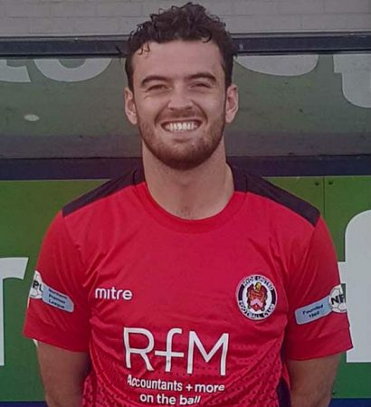 Hyde United Player Raising Money For The Alzheimer's Society