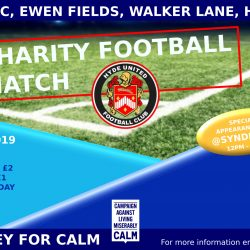 Charity Event in aid of CALM This Sunday