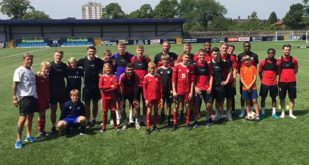 Ewen Fields Welcomes Visitors From Overseas