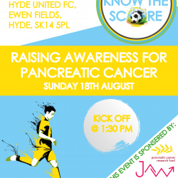 Know The Score Charity Match This Sunday
