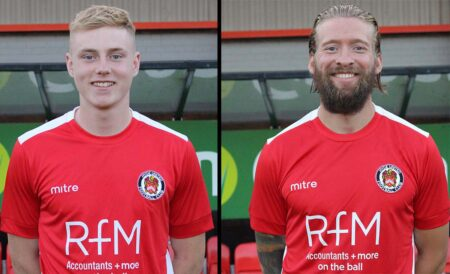 Paddy Lane And Kingsley James Join Farsley Celtic On Loan