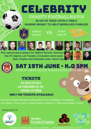 Celebrity Charity Football Match At Hyde United – Sat 19th June