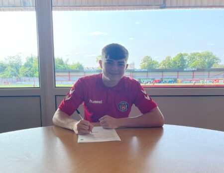 Fogerty Signs His First Contract